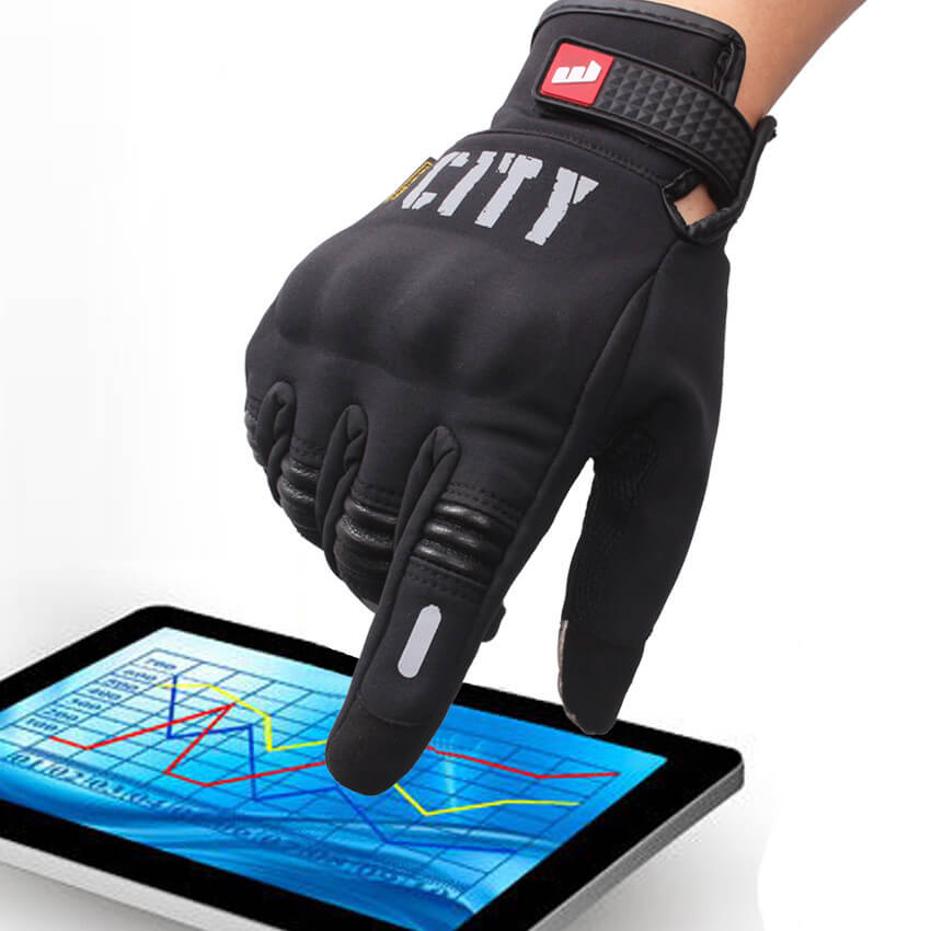 69dc62c6fc7 Gloves Racing Touch Screen City
