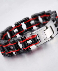 CHAIN SPROCK BRACCELET MOTORCYCLE STEEL COLOR 3