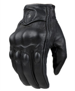 Guantes Agressive Leather black