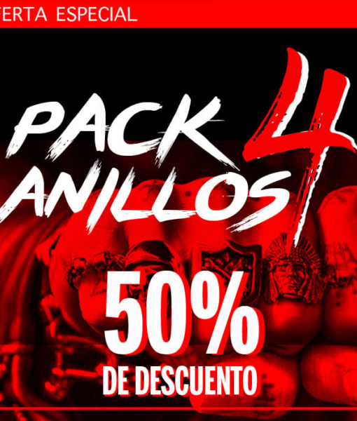 4 anillos PACKDEALs