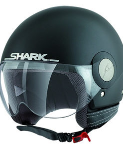 CASCO SHARK SK EASY MAT NEGRO MATE1