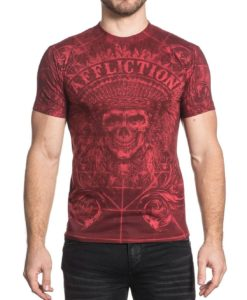 Affliction-Mens-Distortion-Tee-Shirt-Dirty-Red-Wash-1