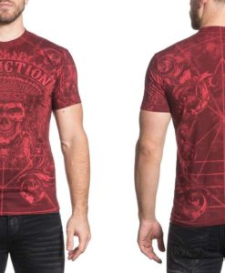 Affliction-Mens-Distortion-Tee-Shirt-Dirty-Red-Wash-3